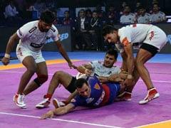 Pro Kabaddi League: Dabang Delhi Edge Past Haryana Steelers, Bengaluru Bulls Beat UP Yoddha