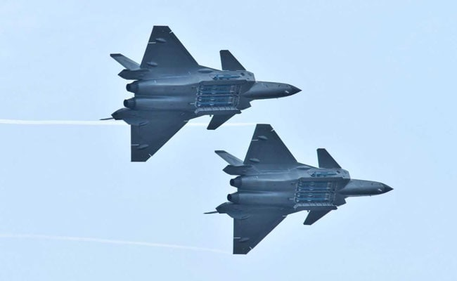 China Displays J-20 Jet's Missiles For The First Time At Airshow: Report