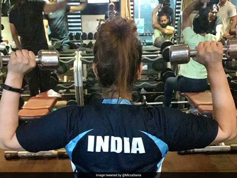 """Sania Mirza Hits The Gym For First Time After Having A Baby, Says She Was """"Like A Kid In Candy Shop"""""""