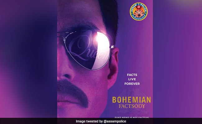 Assam Police Warns Against Fake News With Bohemian Rhapsody Post