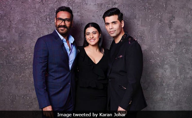 Karan Johar Sipped Koffee With Kajol And Ajay Devgn And 'All Is Well'