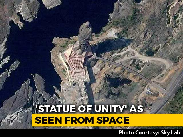 Video : This Is How Statue Of Unity Looks From Space. See First Image