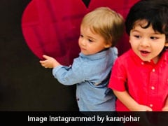 Dear Karan Johar, Thank You For Sharing These Cute Pics Of Taimur, Roohi And Yash