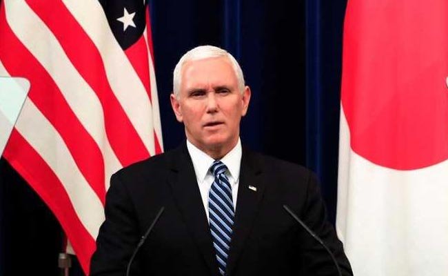 US-Japan Trade Pact Will Be Model For Indo-Pacific Region: Mike Pence