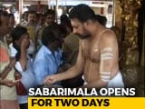 Video : Hundreds Of Cops, Mobile Jammers As Sabarimala Temple Opens