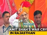 """Video: """"Will Identify Them, Throw Them Out"""": Amit Shah On Illegal Immigrants"""