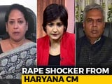 Video : After Outrage, Haryana Chief Minister Justifies Rape Comment