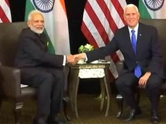 "Pak ""Mainstreaming"" 26/11 Terrorists Threat To All: PM Modi To Mike Pence"