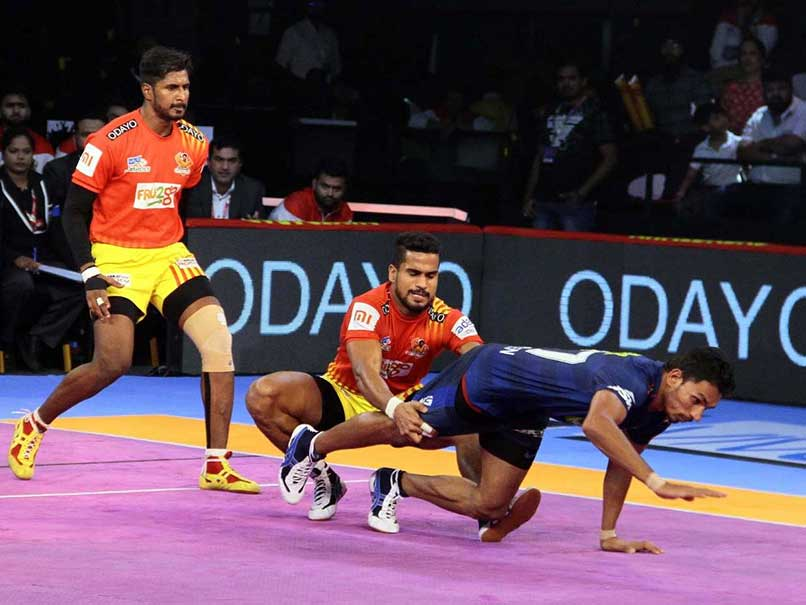 Pro Kabaddi League: Gujarat Fortunegiants Register Comfortable Win Over Haryana Steelers