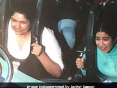 Janhvi Kapoor Or Anshula Kapoor, Who Captioned This Roller Coaster Pic Better?