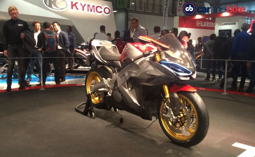 EICMA 2018: KYMCO SuperNEX Electric Superbike Concept Revealed