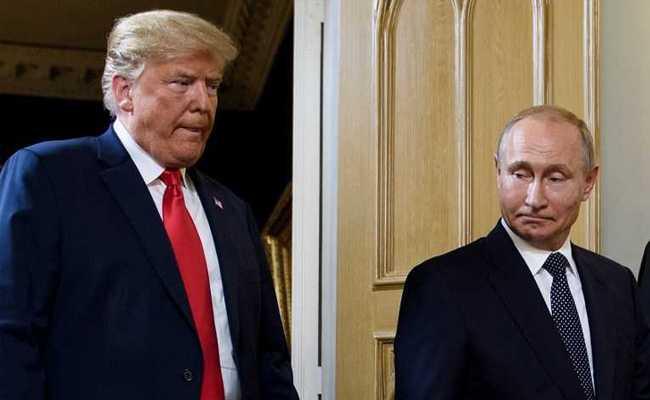 Russia's Vladimir Putin Accuses US Of Raising Risk Of Nuclear War