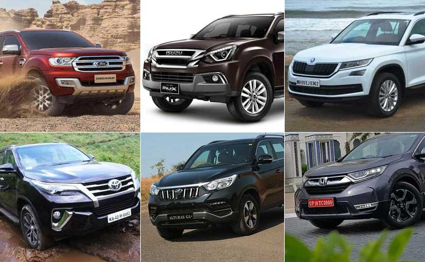 Mahindra Alturas G4 vs Toyota Fortuner vs Ford Endeavour vs