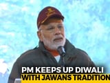 Video : PM Modi Celebrates Diwali With Soldiers, Visits Kedarnath Temple