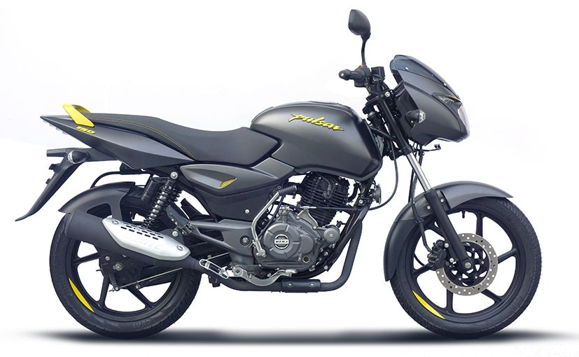 The 2019 Bajaj Pulsar 150 gets new neon colours on the drum brake version