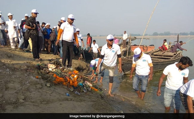 55 Tonnes Of Waste Removed From Ganga