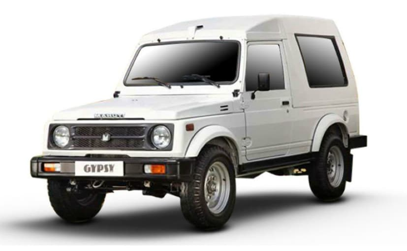 The iconic Maruti Suzuki Gypsy