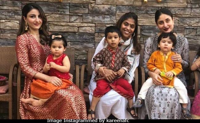 Diwali Chhota Pataakhas Taimur, Inaaya Are Festive Ready. See Pic