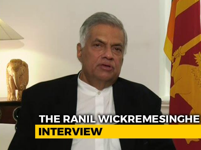 Video : Sri Lanka's 'Deposed' PM Speaks Out