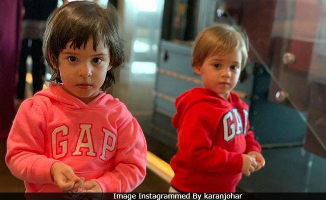 Karan Johar, We Can't Get Over This Video Of Roohi And Yash. So, So Adorable