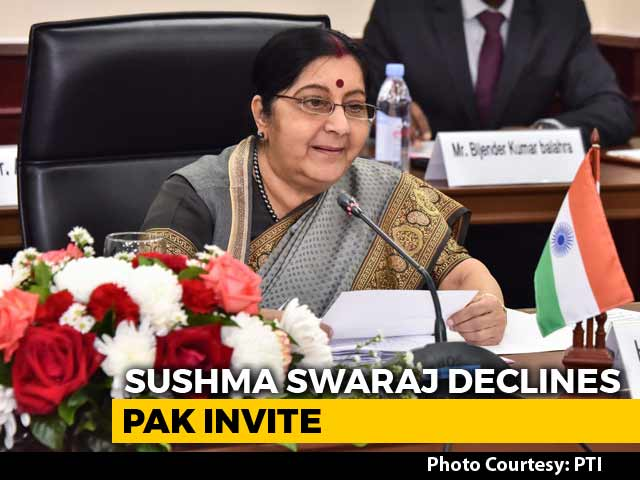 Video : Sushma Swaraj Turns Down Pak Invite For Sikh Pilgrim Corridor Event