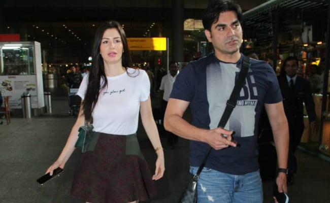 Arbaaz Khan And Rumoured Girlfriend Giorgia Andriani Are Travel Buddies. See Airport Pics