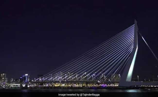 सिग्नेचर ब्रिज के बदले AAP ने पोस्ट की नीदरलैंड की तस्वीर, BJP बोली- चोरी तो आपकी फितरत में है