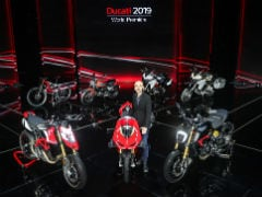 EICMA 2018: Ducati Unveils New Motorcycles For 2019