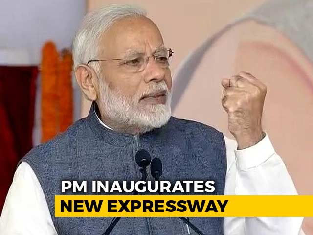 Video : PM Modi Inaugurates Expressway Aimed At Easing Delhi Traffic, Pollution