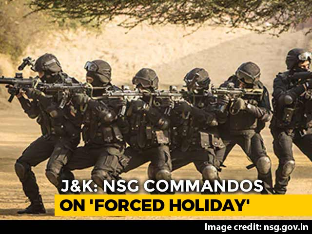 Video : 80 Elite Commandos In Kashmir Valley For 6 Months On 'Forced Holiday'