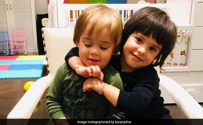 Nothing Much, Just Another Cute Video Of Karan Johar's Twins Yash And Roohi