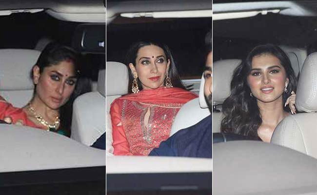 Kareena And Karisma Kapoor To Tara Sutaria: Diwali At Karan Johar's Was A Starry Night