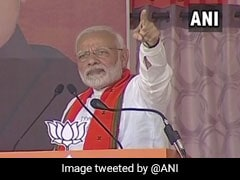 """Those Out On Bail Giving Honesty Certificates"": PM's Dig At Gandhis"