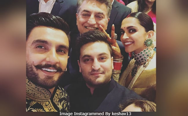 Deepveer's wedding reception in Bengaluru