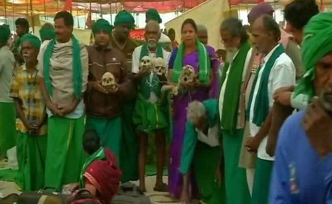 'Will Walk Naked To Parliament If Demands Not Met': Tamil Nadu Farmers
