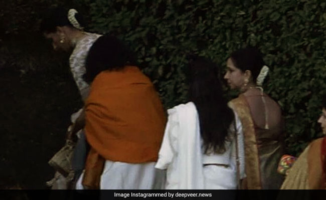 Watch Deepika Padukone, Ranveer Singh Exit Villa Del Balbianello After Wedding