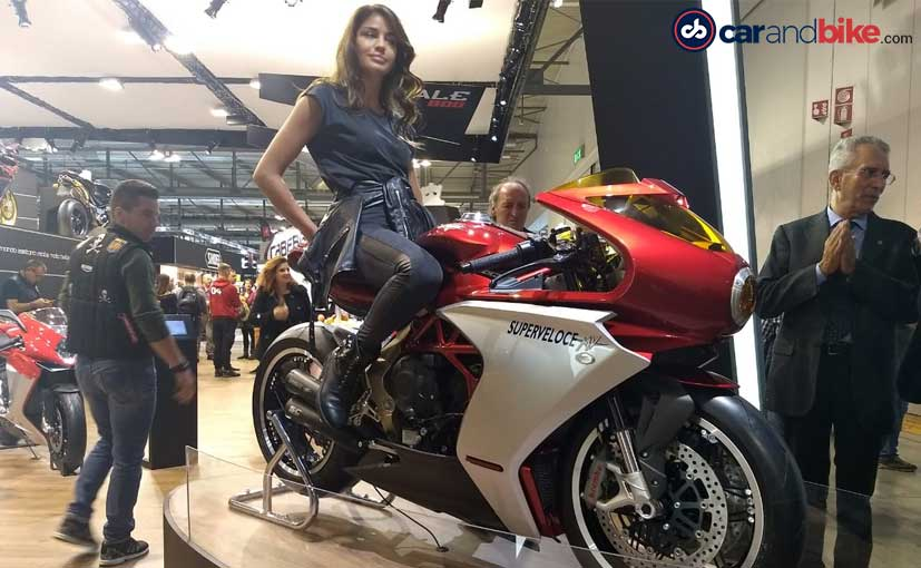 EICMA 2018: Stunning MV Agusta Superveloce 800 Concept Revealed