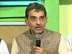 Sulking Upendra Kushwaha Won't Attend BJP Alliance Meet, May Exit Today