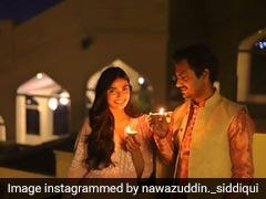 <I>Motichoor Chaknachoor</I>: Nawazuddin Siddiqui And Athiya Shetty Wish Fans a 'Sweet' Diwali