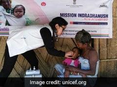 मिशन इंद्रधनुष के तहत चार सालों में 3.15 करोड़ से ज्यादा बच्चों को लगाया गया टीका