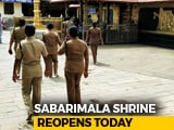Video : Women Cops, 50-Plus, On Guard As Sabarimala Temple Opens Today