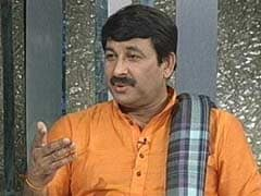 Honour UP Journalist For Exposing <i>Roti</i>-Salt Meal In School: Manoj Tiwari