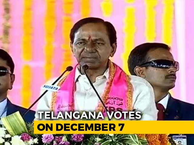 Video : How KCR, Telangana's Dream Merchant, Hopes To Win Big In Home Turf Gajwel