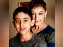 Sonali Bendre's Son Ranveer Helps Actress In Keeping Her Book Club Up And Running In Mumbai