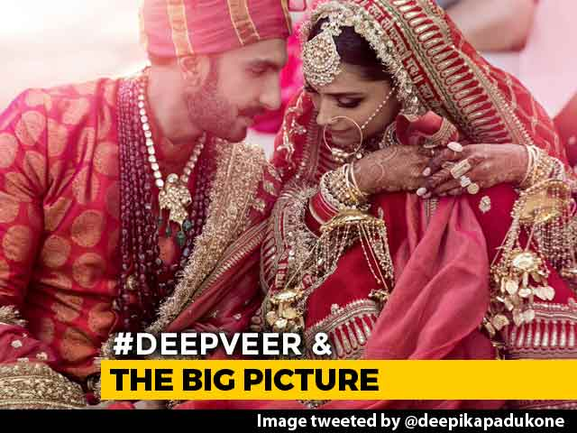 First Wedding Pics Of Deepika, Ranveer After Band Baaja Baaraat In Italy