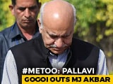 """Video: """"It Was Consensual"""": MJ Akbar After US-Based Journalist Alleges Rape"""