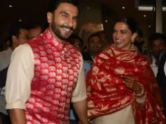 Newlyweds Deepika Padukone, Ranveer Singh Touch Down In Mumbai After Italy Wedding. See Pics