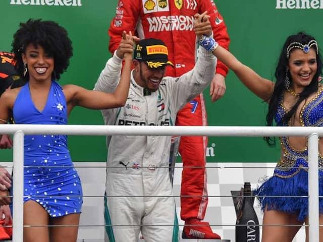Lewis Hamilton Wins Nail-Biting Brazilian GP, Mercedes Take Constructors
