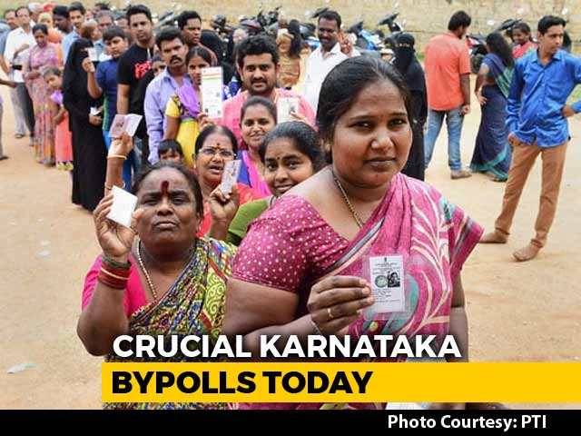 Video : Congress, HD Kumaraswamy Eye BJP Bastions In Karnataka Bypoll Test