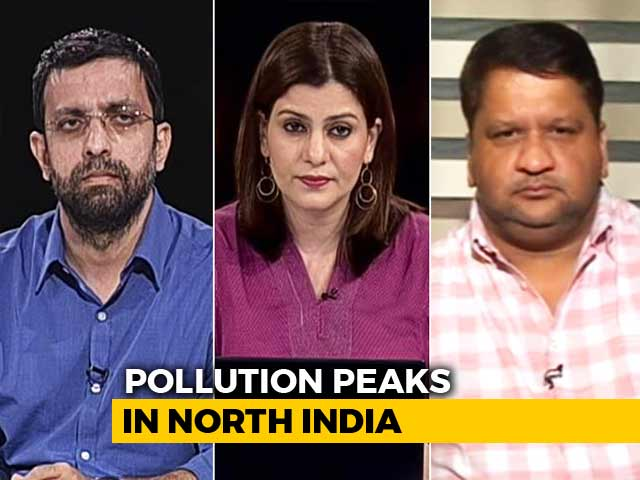 Video : Pollution Peaks In North India: Official Wants Cars Off The Road